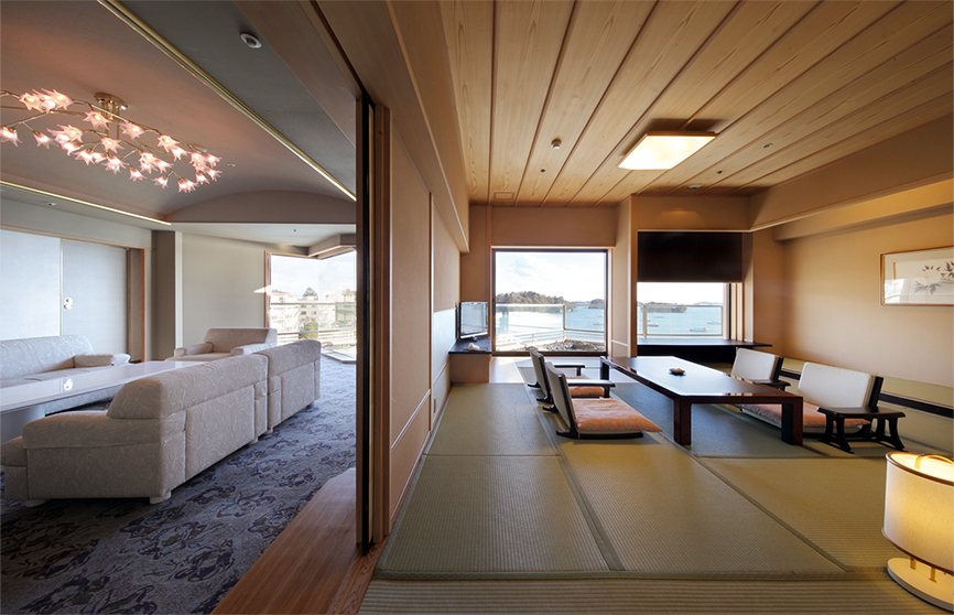 Suite with Open-Air Bath: Matsu-no-Ma