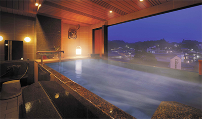 Private Family Hot Spring Bath: Nagomi